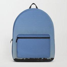 Clear blue sky Backpack
