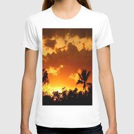 A Tropical Sunset T-shirt