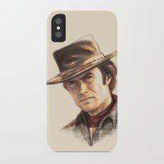 Clint Eastwood tribute iPhone X Slim Case