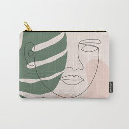 Tropical Woman Carry-All Pouch