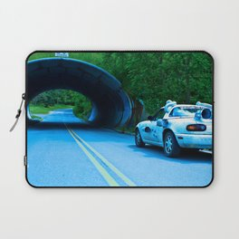 When this baby hits eighty-eight miles per hour... Laptop Sleeve