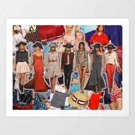 Oscar de la Renta, Resort 2012 Art Print