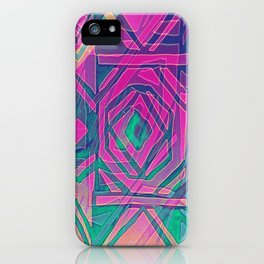 ndebele pink iPhone Case