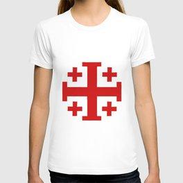 Jerusalem Cross 8 T-shirt