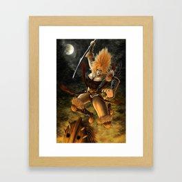 Beware the Amazon Framed Art Print