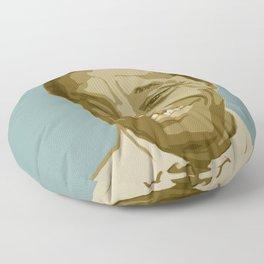James Baldwin Floor Pillow