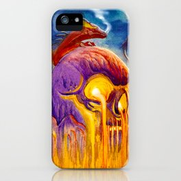 A Night On Skull Mountain iPhone Case