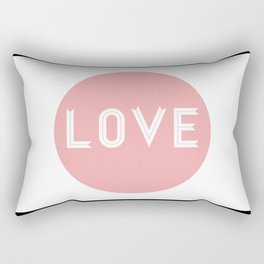 The Love Rectangular Pillow