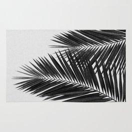Palm Leaf Black & White II Rug