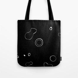 Blobs (Black) Tote Bag