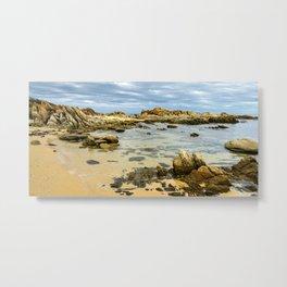 Salmon Rocks, Cape Conran, Victoria Metal Print