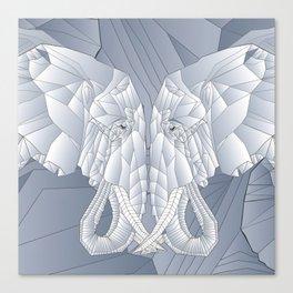 Stone Elephant Canvas Print