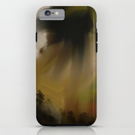 Trees In Oils iPhone Case