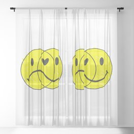 For Better or Worse Sheer Curtain
