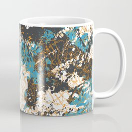 Bold abstract print for spring summer fashion Coffee Mug