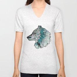 Wolves Unisex V-Neck