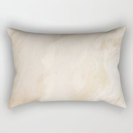 Brown Turquiose Marble texture Rectangular Pillow