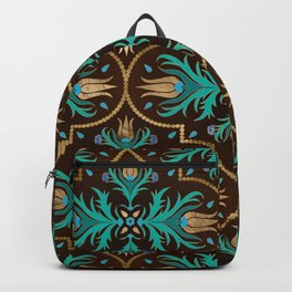Turkish tulip - Ottoman tile 16 Backpack