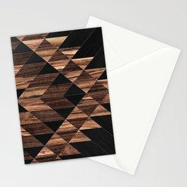 Urban Tribal Pattern No.11 - Aztec - Wood Stationery Cards