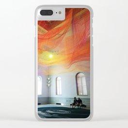 Renwick Gallery Clear iPhone Case
