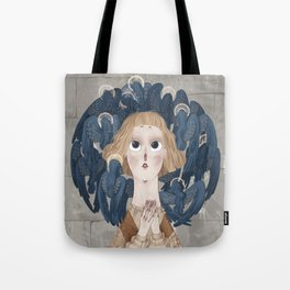 Joan of Arc - Voices Tote Bag