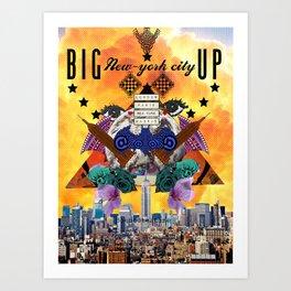 BIG APPLE CITY  Art Print