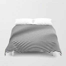 Bold Minimal Lines Duvet Cover