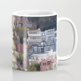 Lombard Street - San Francisco Coffee Mug