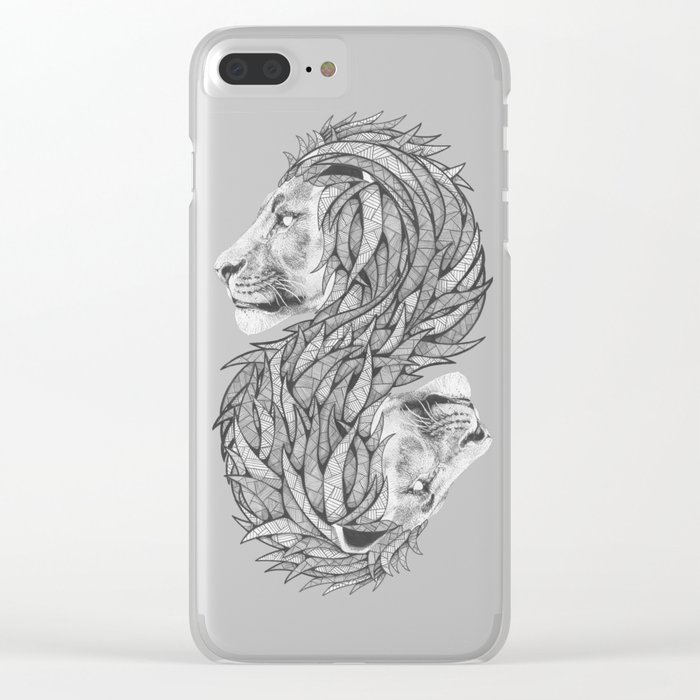 Courage to create Clear iPhone Case