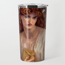 "Dante Gabriel Rossetti ""Salutation of Beatrice"" Travel Mug"