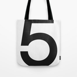 No. 5 — White Tote Bag