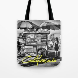 California (with text) Tote Bag