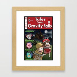 Tales from Gravity Falls Framed Art Print