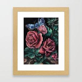 """An Interpretation"" Painting, Inspired by Willem van Aelst Framed Art Print"