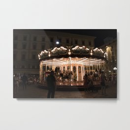 Warm Nights of Florence Metal Print