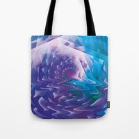 trippy Tote Bags featuring Trippy by Jan Wurtmann