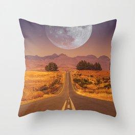 Lunar 2 Throw Pillow