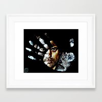 fringe Framed Art Prints featuring Fringe by D77 The DigArtisT