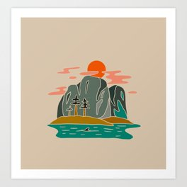 Squamish Art Print