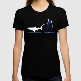 Walking the Shark T-shirt