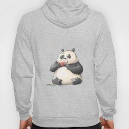 Panda Loves Coffee Hoody