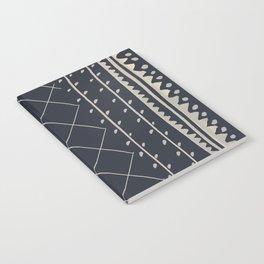 Vintage Rug Black Notebook