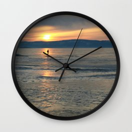 Loneliness is in ices Wall Clock