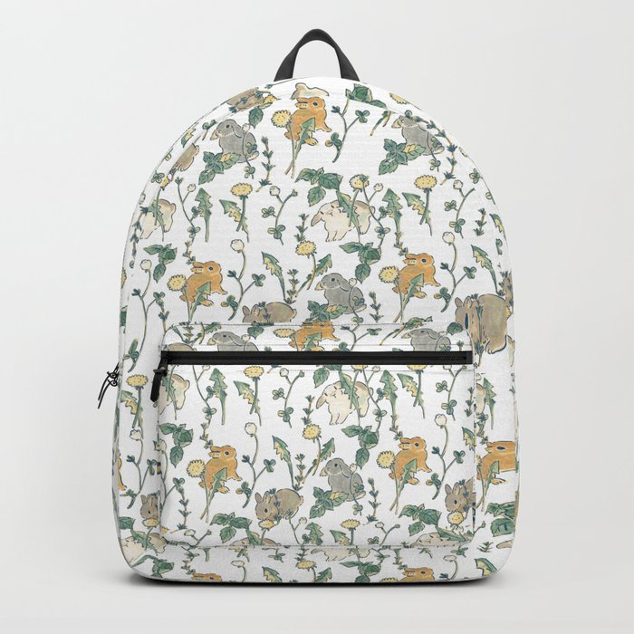Spring Garden -white Rucksack