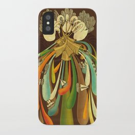 Seven Swans iPhone Case
