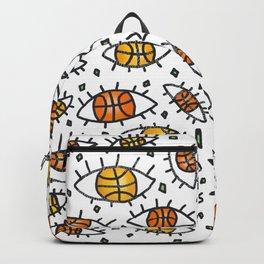 """""""Eyes"""" pattern Backpack"""