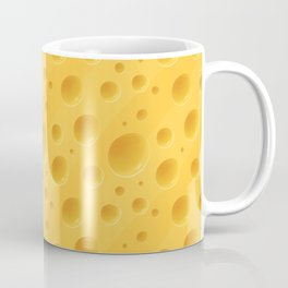 Orange Cheese Texture - Food Pattern Coffee Mug
