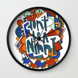 Don't be a ninny Wall Clock