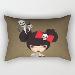 wicked witch Rectangular Pillow