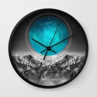 not all those who wander are lost Wall Clocks featuring Not All Those Who Wander by soaring anchor designs